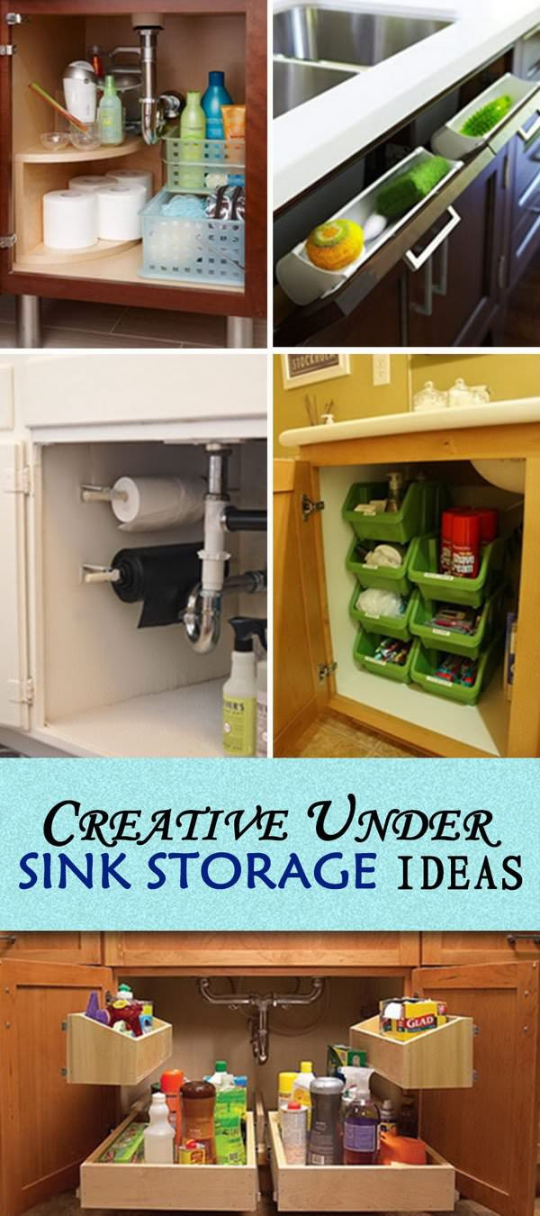 Creative Under Sink Storage Ideas Veryhom