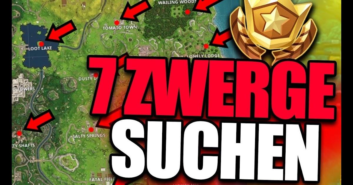 Fortnite Season 7 Woche 6 Zwerge Fortnite 2019 Dances