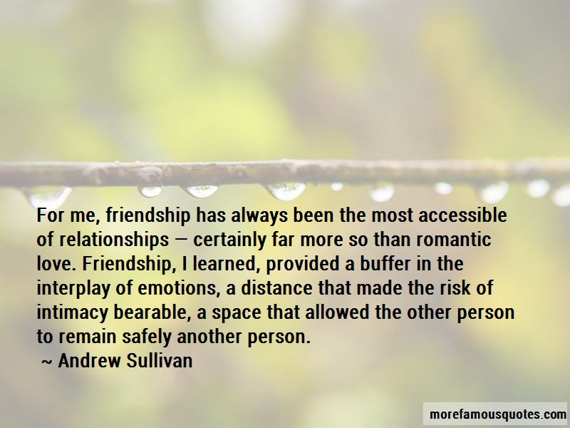 Love Friendship Distance Quotes Top 9 Quotes About Love Friendship