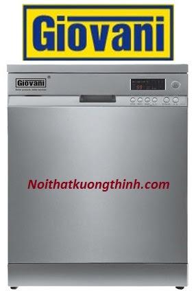 Máy rửa bát Giovani DGW F361S món quà ý nghĩa cho người nội trợ