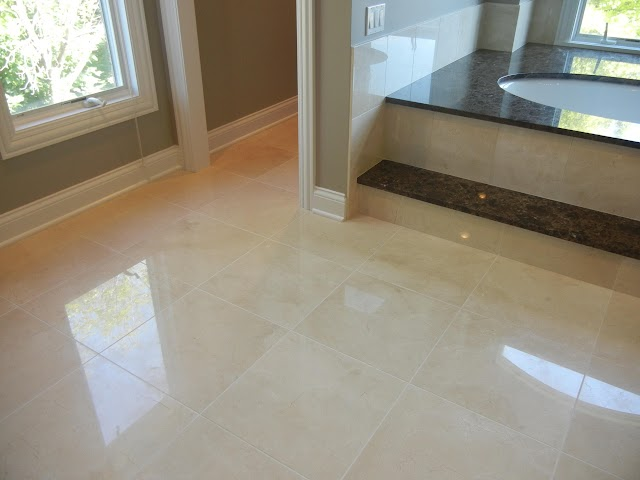 How can you restore the luster & freshness of your marble floor?