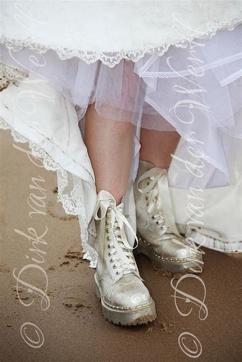 DOC MARTIN BOOTS FOR CATHERINE'S WEDDING TO GARY AT