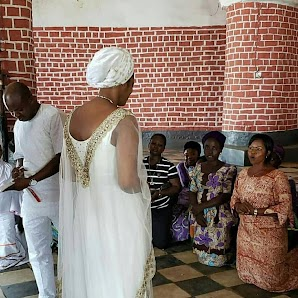 Photos: Prophetess Naomi Resumes Duty As The New Wife Of The Ooni Of Ife