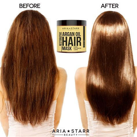 Best Argan Oil Hair Mask   Aria Starr Hair Repair ? Aria