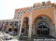Κατεστραμένο ξενοδοχείο στη Σαβίγια