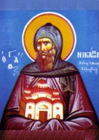 Saint Nicanor le Thaumaturge († 1549)