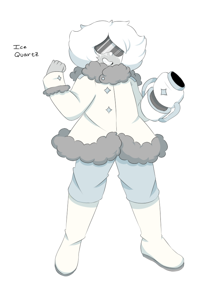 I made a concept for an ice quartz for a court a friend made! :,D yeeee Hes p much a shitlord