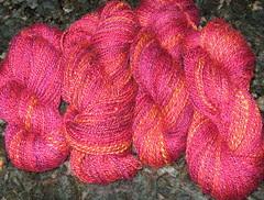 spindle yarn april