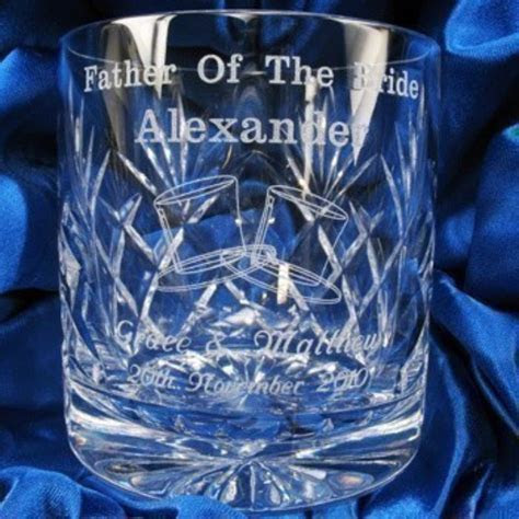 Father of the Bride Whisky Glass   The Personalised Gift Shop