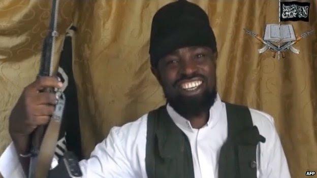 Boko Haram leader Abubakar Shekau 24 March