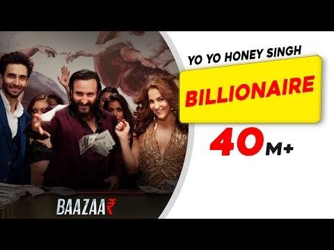 Honey Singh Billionaire Lyrics - Baazaar | Saif Ali Khan | Elli Avram