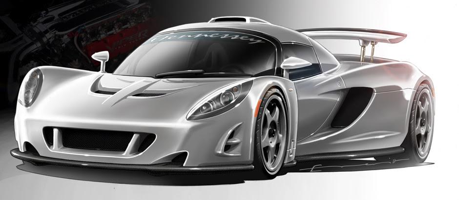 Concept Renderings - Hennessey Venom GT