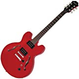 Epiphone DOT Studio Electric Guitar with Gloss Finish, Cherry
