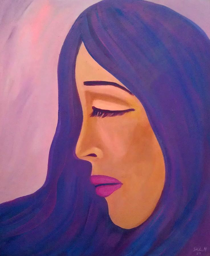 Depression Painting by Deyanira Harris