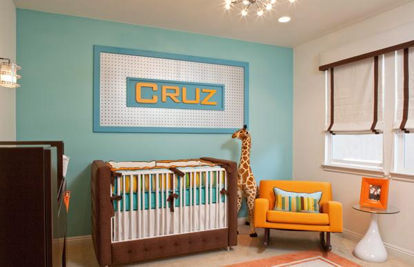 babyzimmer junge modern blau   beecie, Schlafzimmer