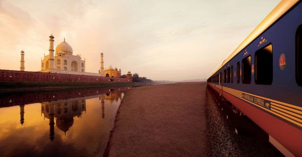 Onboard The Maharaja Express TajMahal Seems Ever More Magical!