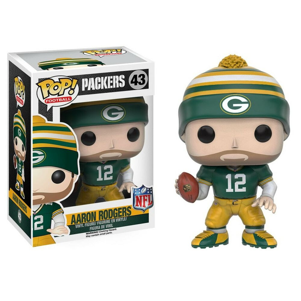 Funko Pop NFL Football Wave 3 Packers Aaron Rodgers Vinyl Figure Collectible Toy eBay