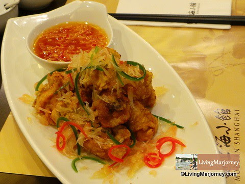 Crispy Chicken in Chili & Pomelo Sauce