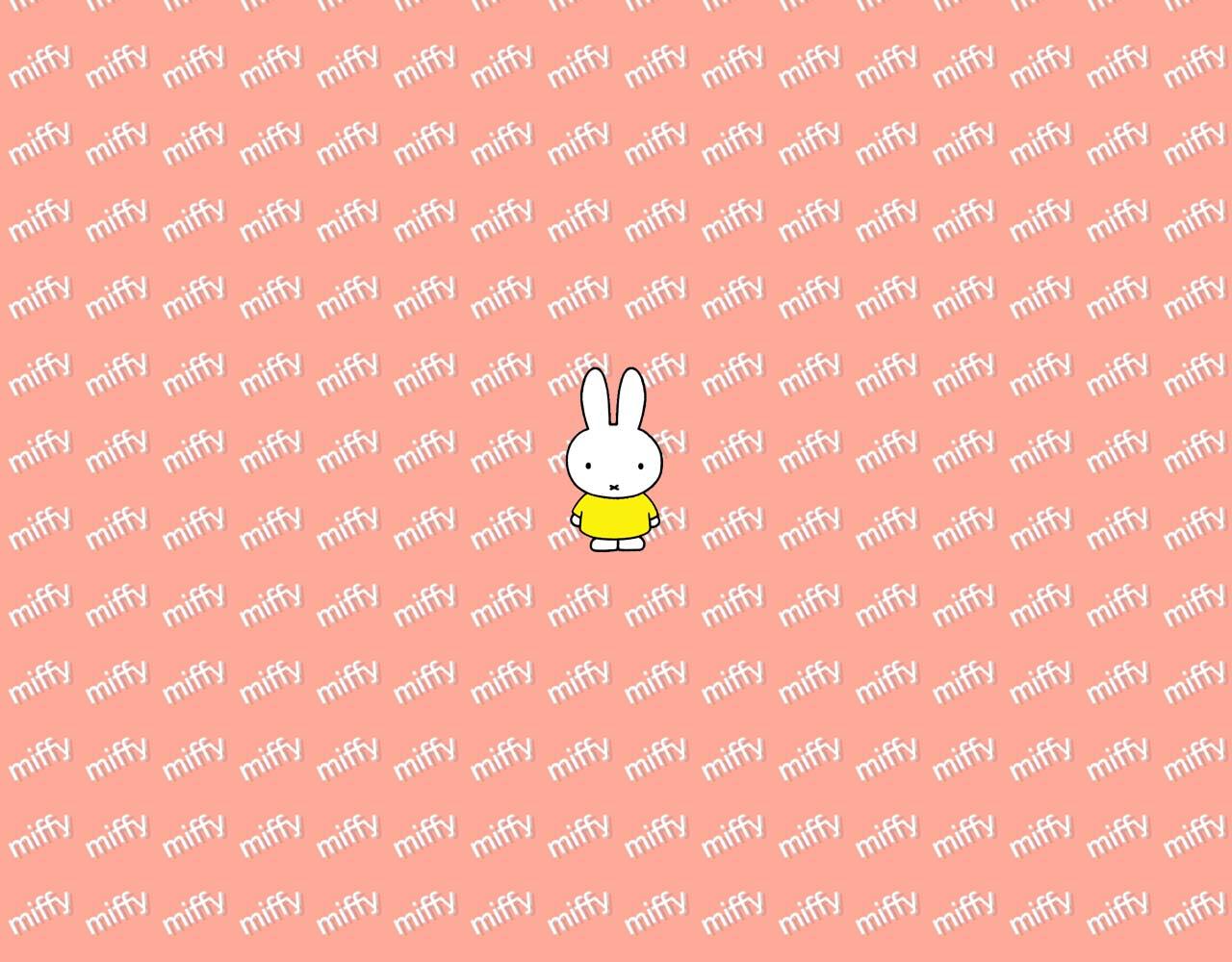 ミッフィー壁紙ダウンロード ピンク ミッフィーmiffy pc