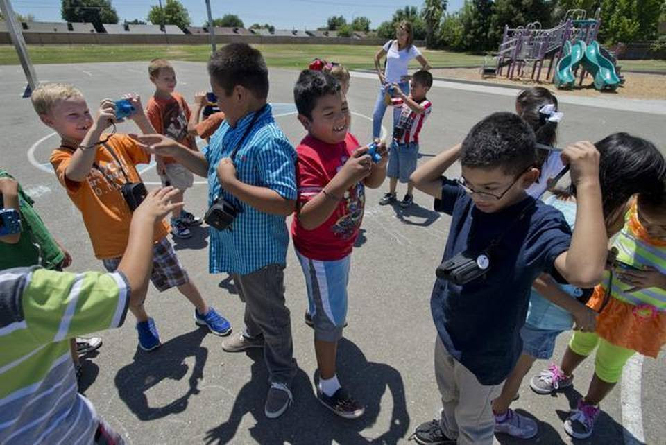 Students at Madison Elementary School on Tuesday July 1, 2014 in North Highlands, Calif.