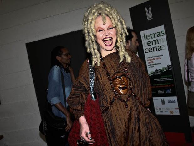 Elke Maravilha em evento em São Paulo (Foto: Cláudio Augusto/ Foto Rio News)