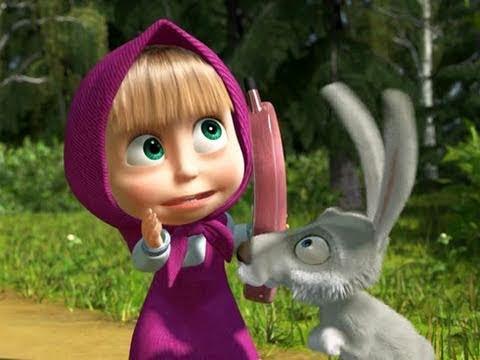 Кадр из мультфильма «Маша и Медведь : Позвони мне, позвони! (серия 8)»