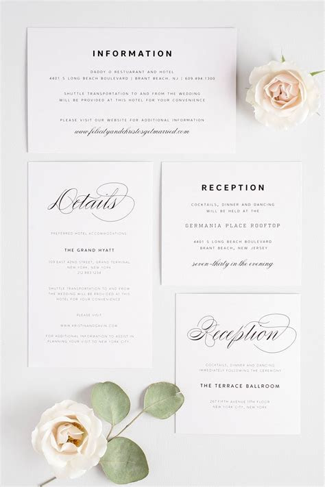 Small   Large Enclosures Wording 101 ? Wedding Invitations