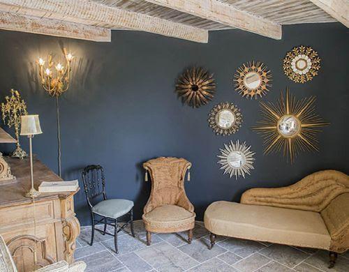 Casa rural chic y estilo provenzal en La Capelle et Masmolène