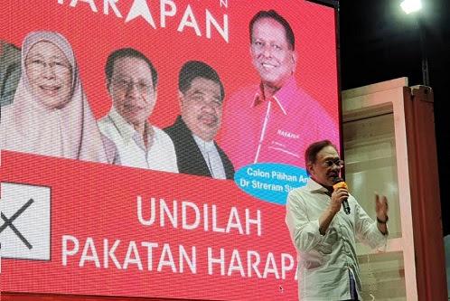 Peralihan kuasa hampir selesai - Anwar