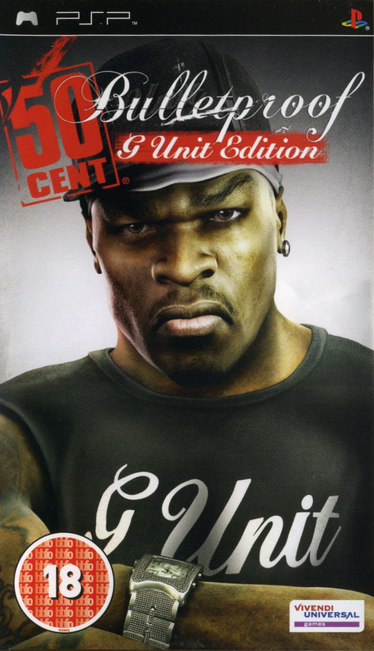 Image result for 50 cent psp cover