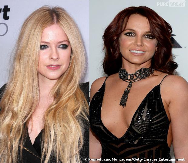 Avril Lavigne e Britney Spears