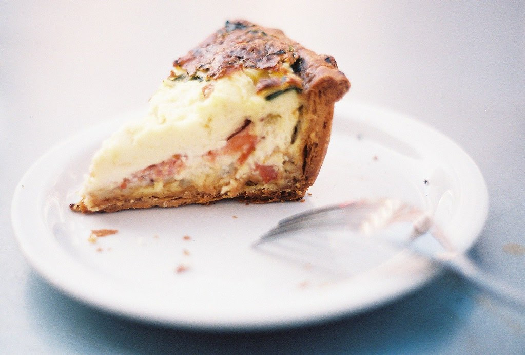 quiche from Tartine Bakery