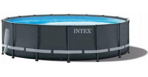 intex ultra xtr frame pool om se priser  butikker