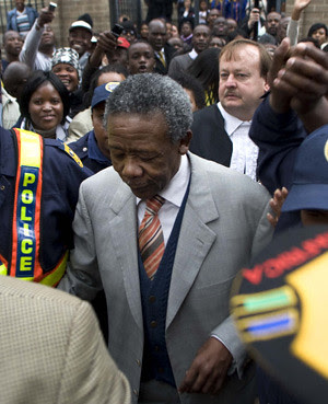 Jackie Selebi, the former National Police Commissioner in the Republic of South Africa, was convicted of corruption in a widely publicized trial. The ANC stalwart could face up to 15 years in prison. by Pan-African News Wire File Photos
