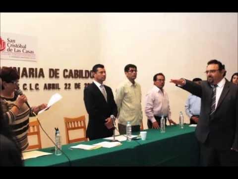 AUDIO – ROBERTO MORALES ORTEGA, RINDE PROTESTA ANTE CABILDO COMO PRESIDENTE MUNICIPAL DE SCLC