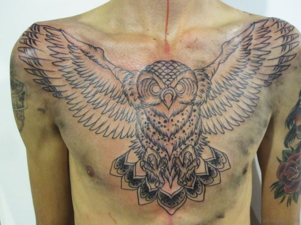 50 Wonderful Chest Tattoos For Men