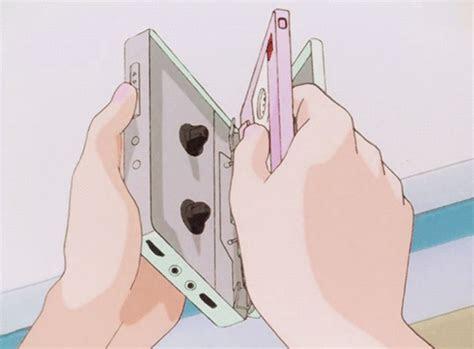 anime walkman retro kawaii illustrations anime