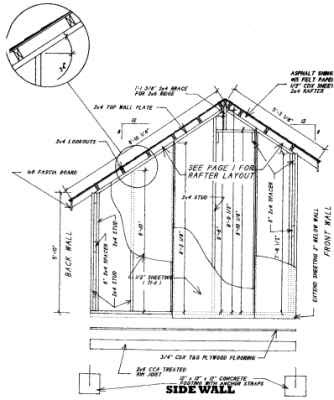 10 X 10 Saltbox Shed Plans Download My Shed Plans