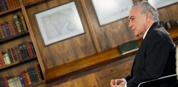 Temer aciona Itamaraty e Aeronáutica e decreta luto de 3 dias por acidente - Beto Barata/Presidência
