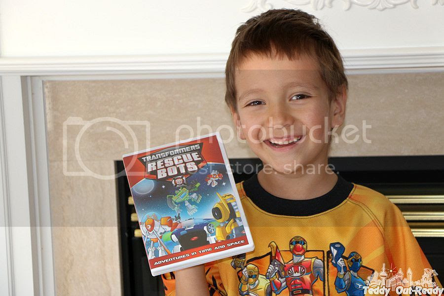 Transformers Rescue Bots DVD