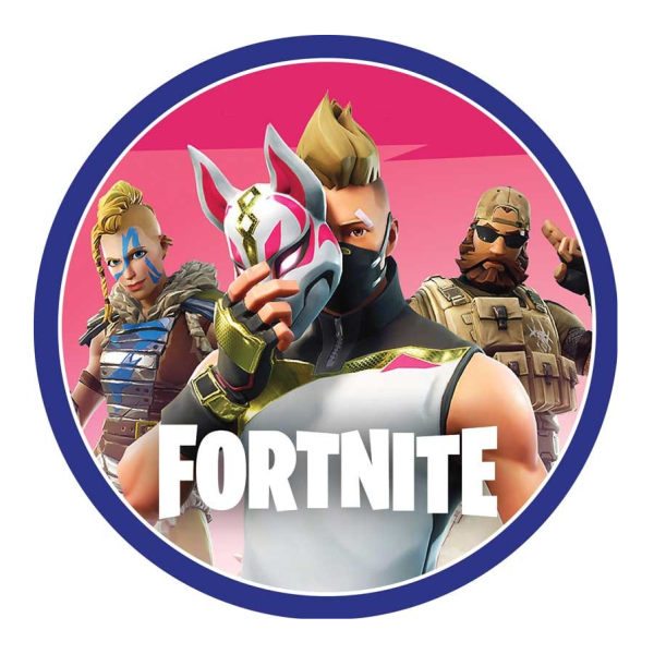 Fortnite Edible Cake Topper – VIParty
