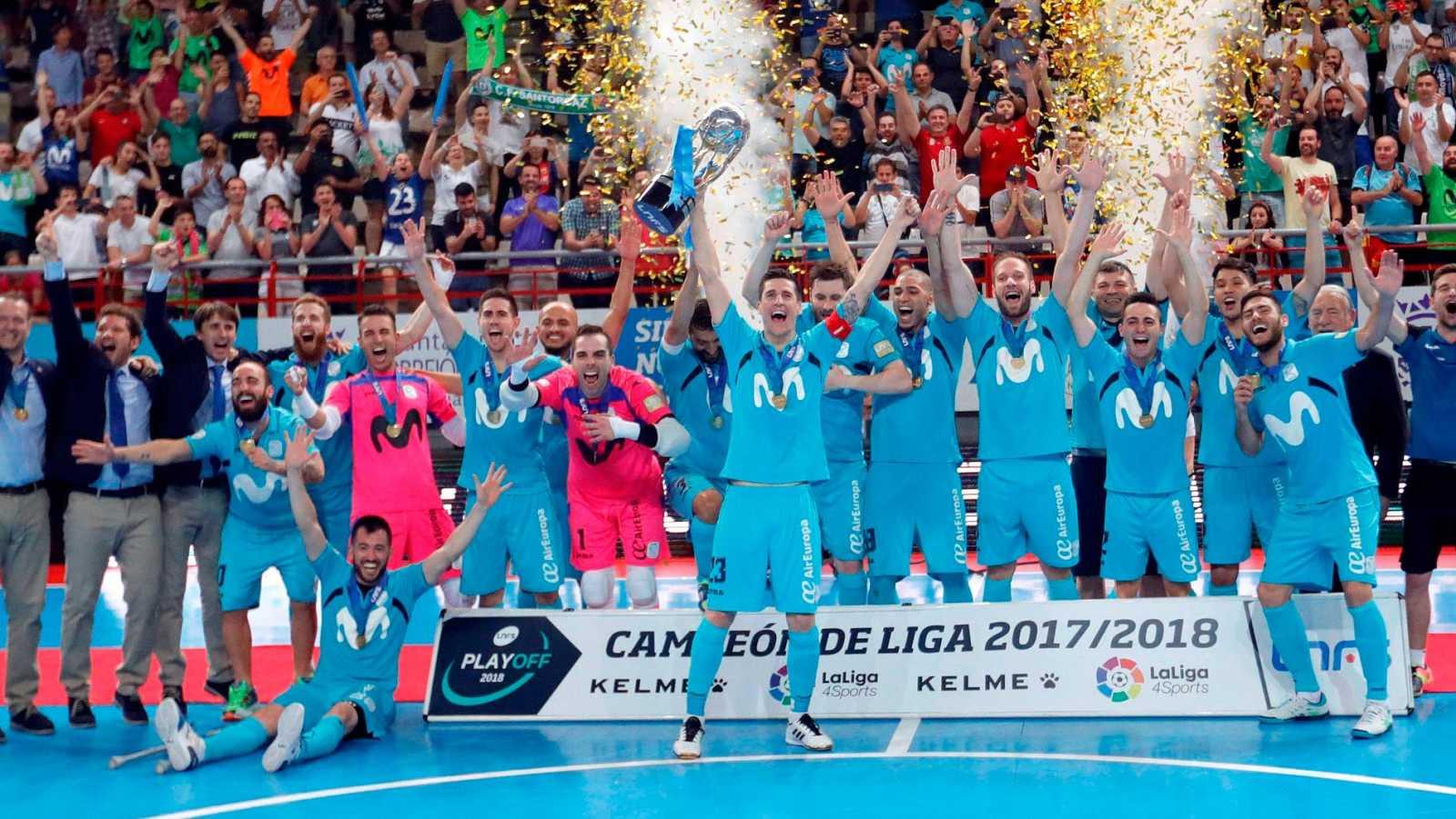 El Inter Movistar gana en los penaltis su quinta liga consecutiva