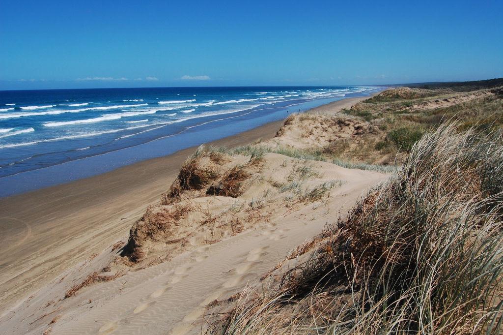 A praia de 150 quilômetros de extensão, na Austrália 04