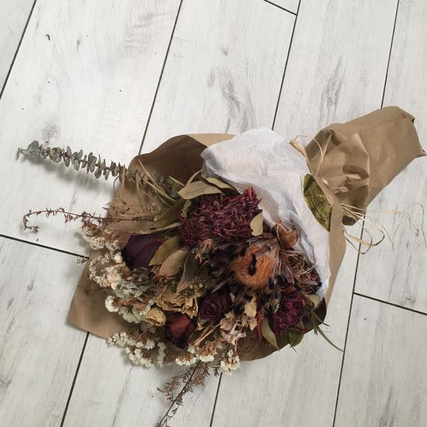 Dried Flower Bouquet Broadfield Flowers Florist Lincoln