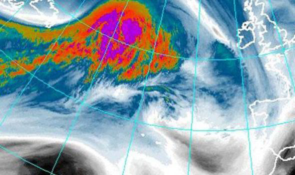 Storm Brigid is gathering pace in the Atlantic and heading for Britain