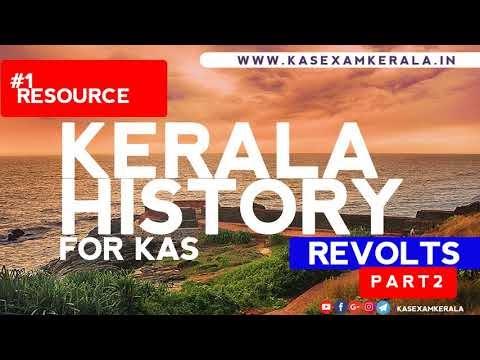 Watch Kerala History for KAS Exam Kerala | Part 2 | Revolts in Kerala