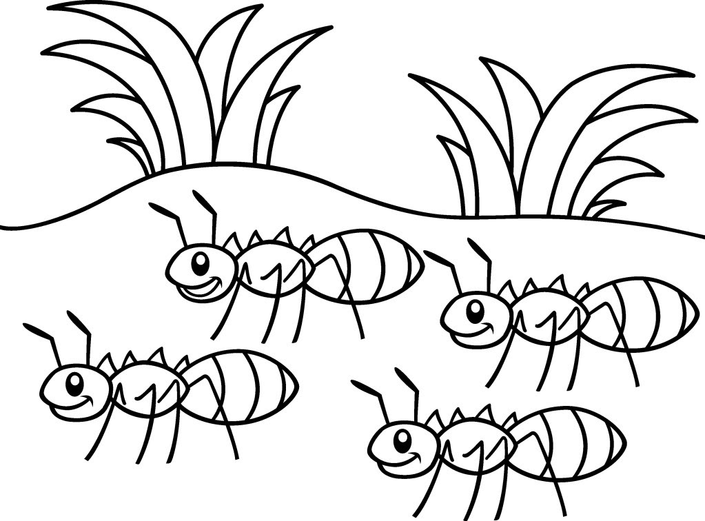 21 Ant Templates, Crafts u0026 Colouring Pages Free - Lusine