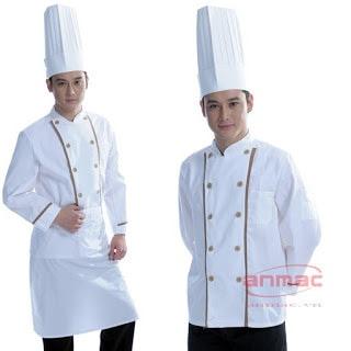 áo đầu bếp nữ