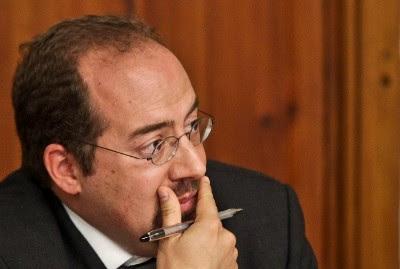 Ministro da Economia e do Trabalho, Álvaro Santos Pereira. Foto de Mário Cruz, Lusa.