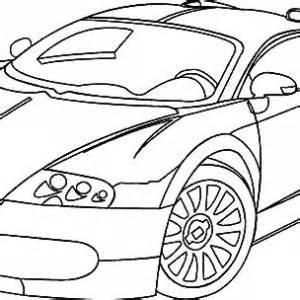 malvorlagen auto bugatti - kinder zeichnen und ausmalen